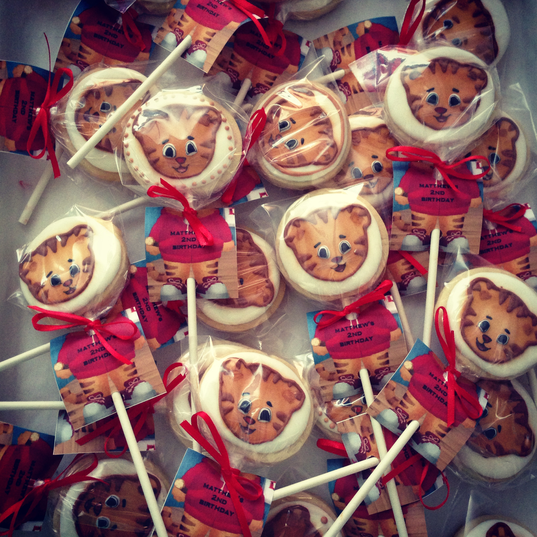 Daniel Tiger Cookie Pops Little Angel Bake Shoppe